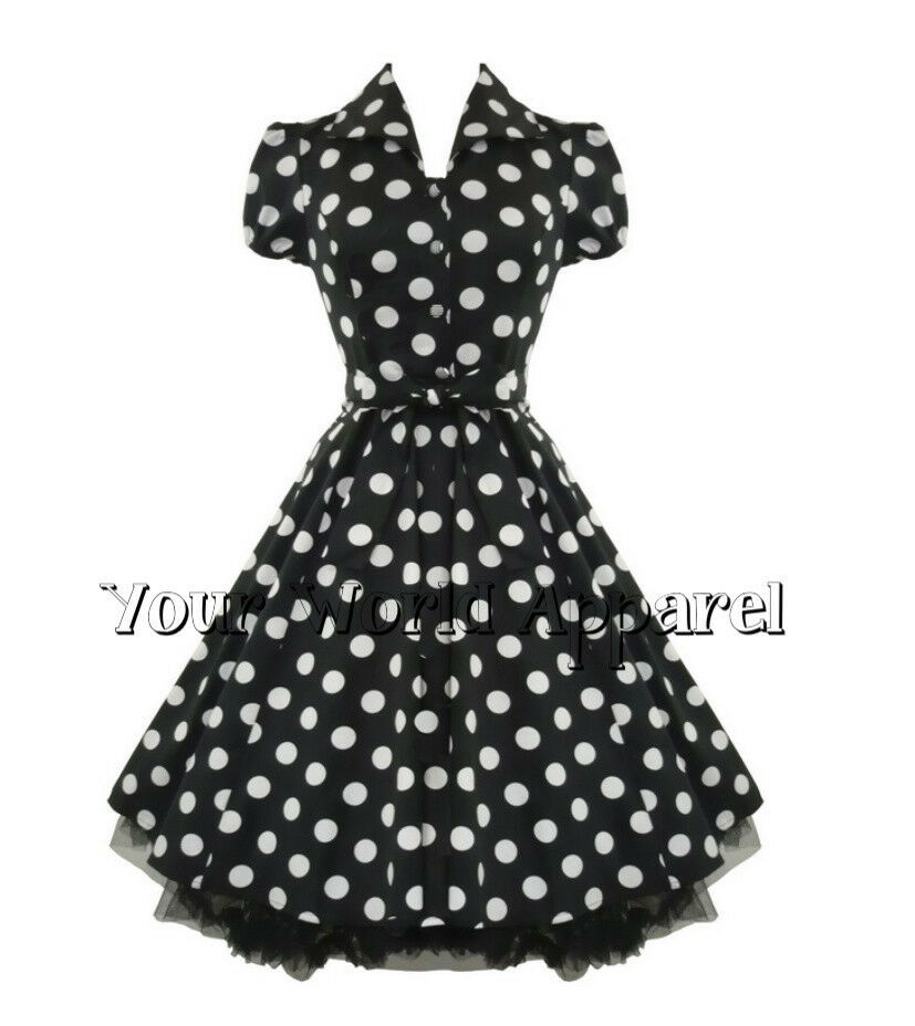 Find black and white polka dot dress from a vast selection of Elegant Dresses for Women. Get great deals on eBay!