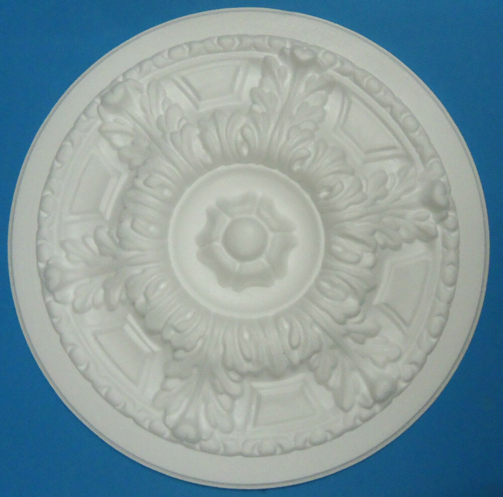 how to put up a polystyrene ceiling rose