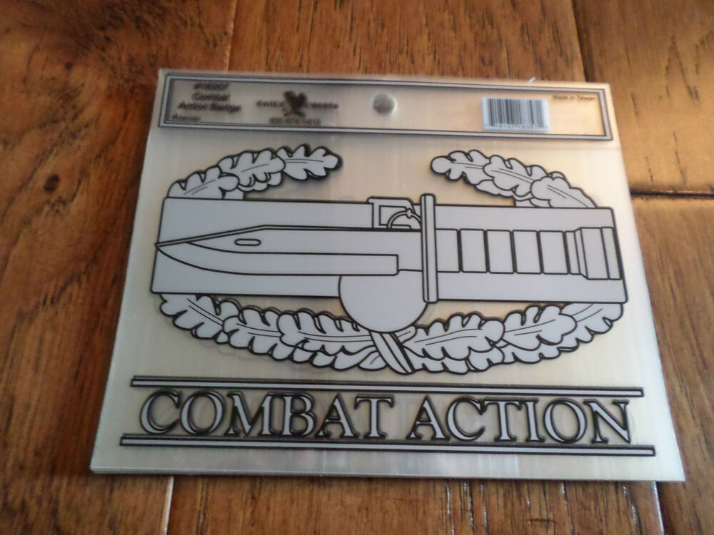 U s military combat action window decal bumper sticker Getting stickers off glass