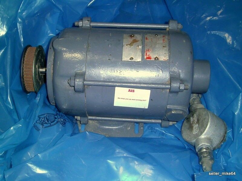General electric 1725rpm 1 2hp explosion proof motor for Explosion proof dc motor