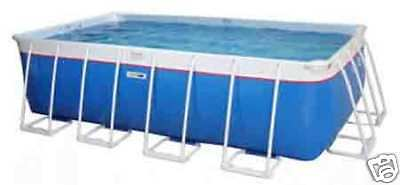 Portable Bluewater Lap Pool Above Ground Portable Swimming Lap Pool 9 39 X41 39 X52 Ebay