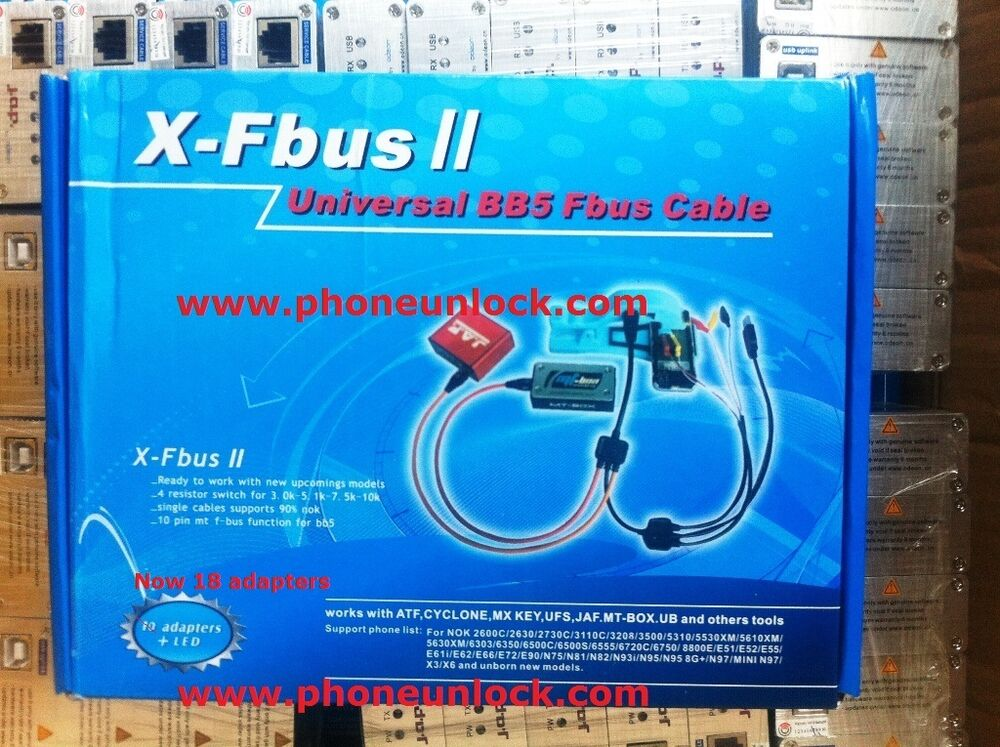 Nokia Cables 250+ Models X FBUS 2 Universal 18 Interface for JAF MX ...