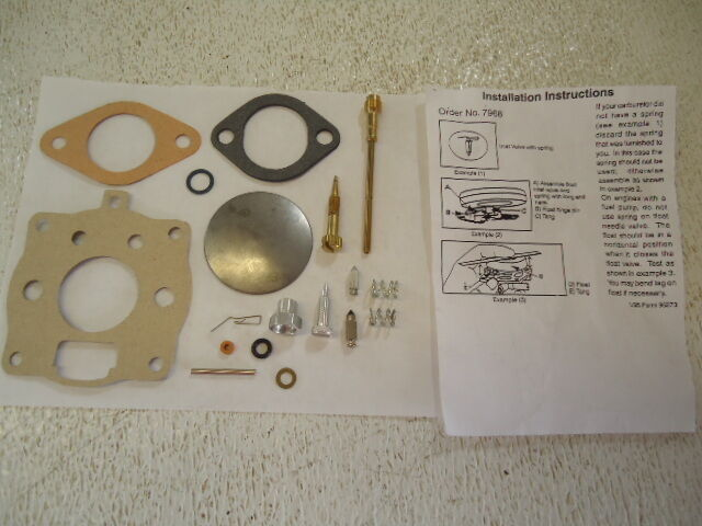 New Carb Carburetor Repair Kit Briggs And Stratton 10 11