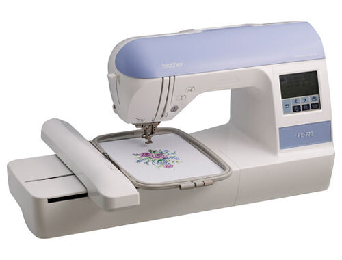 New brother pe embroidery only sewing machine usb