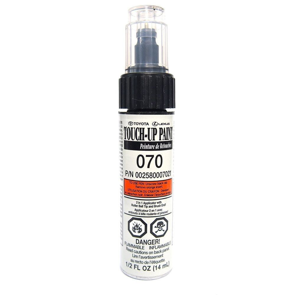 Genuine Toyota Touch Up Paint Code 070 Blizzard Pearl