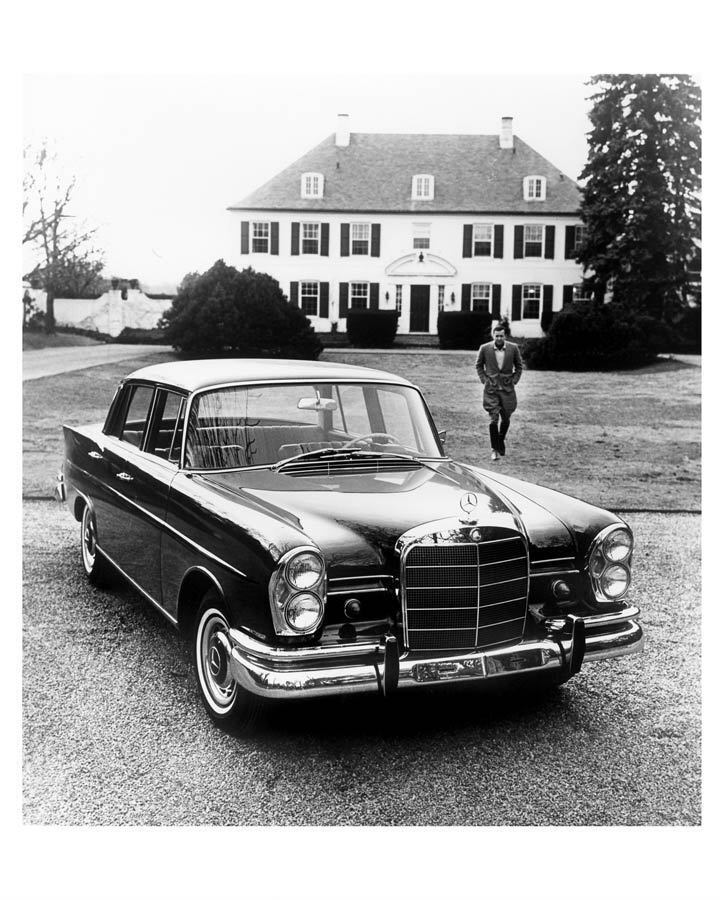 1967 mercedes benz 230s factory photo c6301 toy1qv ebay for Mercedes benz usa factory