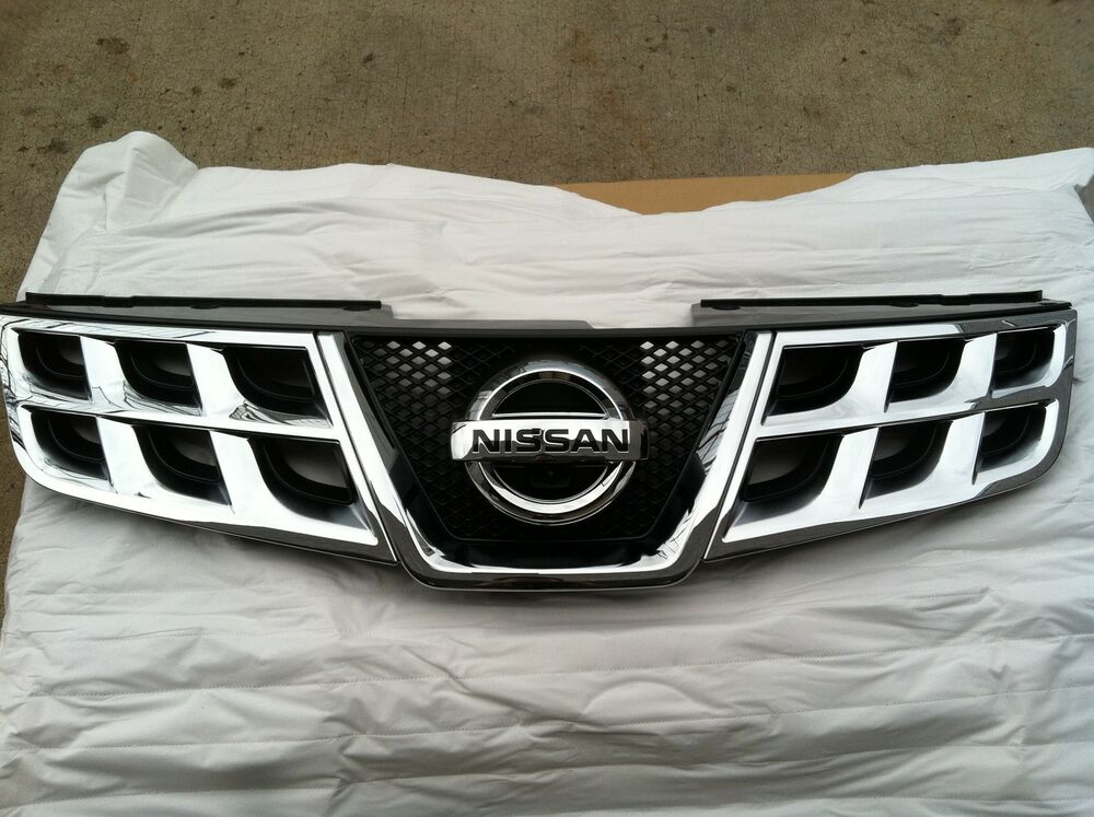 New Oem 2012 Nissan Rogue Front Grille Assembly With