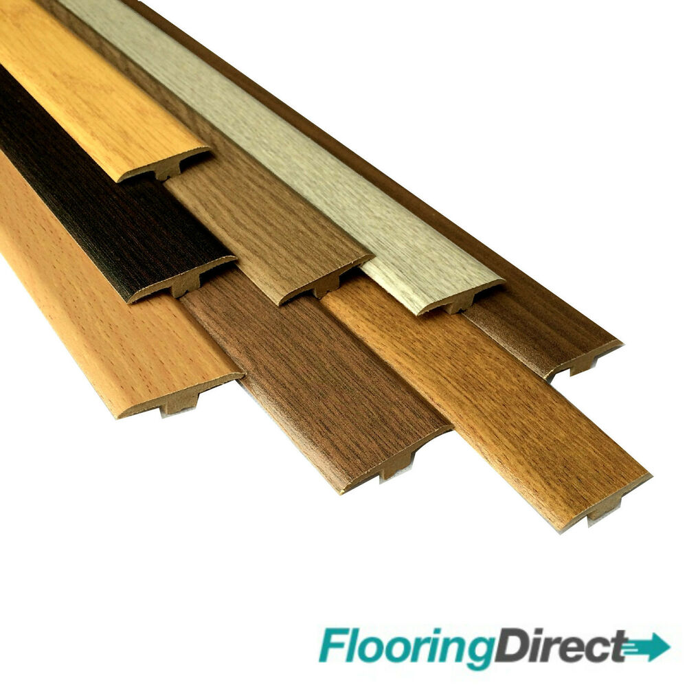 Oak Walnut Threshold Trim T Bar Door Strip Profile For Laminate Wood Flooring