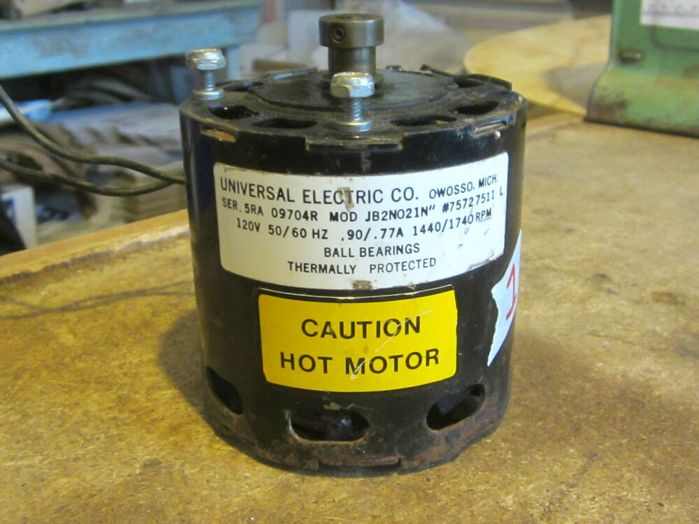 universal electric co model jb2n021n 75727511l electric