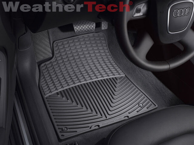 weathertech all weather floor mats audi a4 s4 rs4 2009. Black Bedroom Furniture Sets. Home Design Ideas
