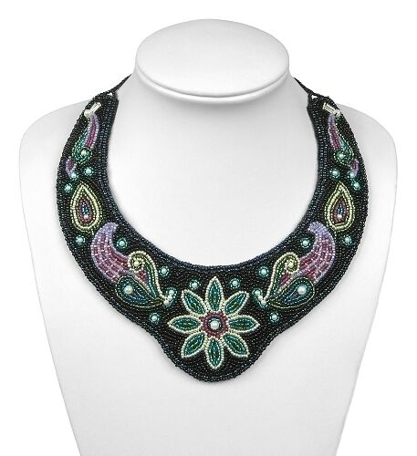 Quot symphony beaded collar bead embroidery kit suitable