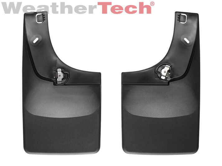 Weathertech No Drill Mudflaps Ford Super Duty With Ff