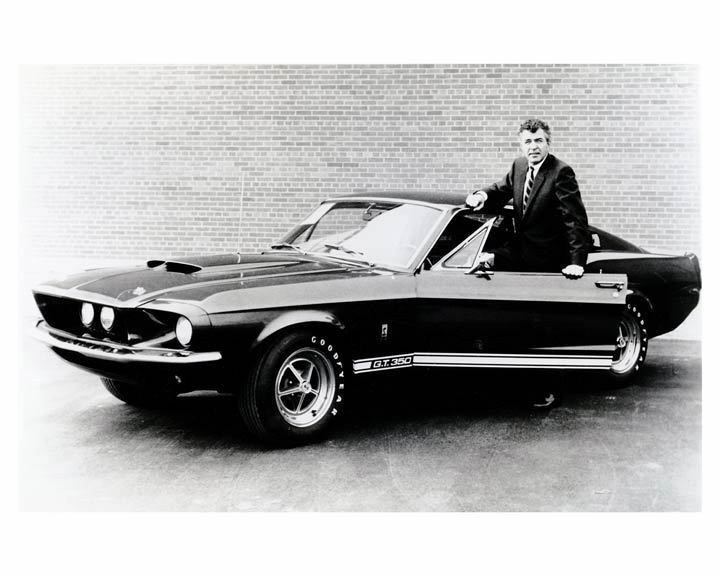 1967 Ford Shelby Mustang GT350 & Carroll Shelby Automobile Photo ...