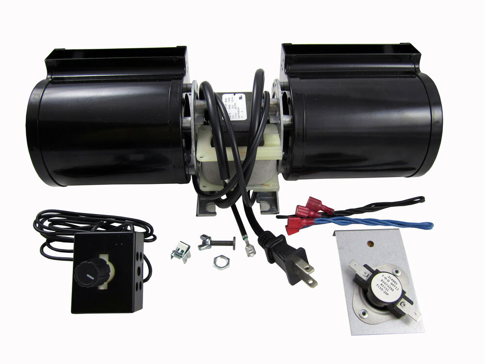 Heat N Glo GFK-160A Replacement Fireplace Blower And Kit Fan Glow ...