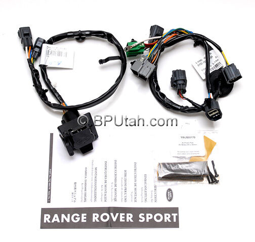 oem 06 09 range rover sport tow hitch trailer wiring. Black Bedroom Furniture Sets. Home Design Ideas