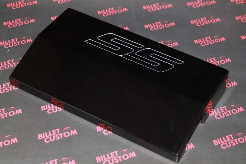 2010 2014 chevrolet camaro fuse box cover ss logo black ebay. Black Bedroom Furniture Sets. Home Design Ideas