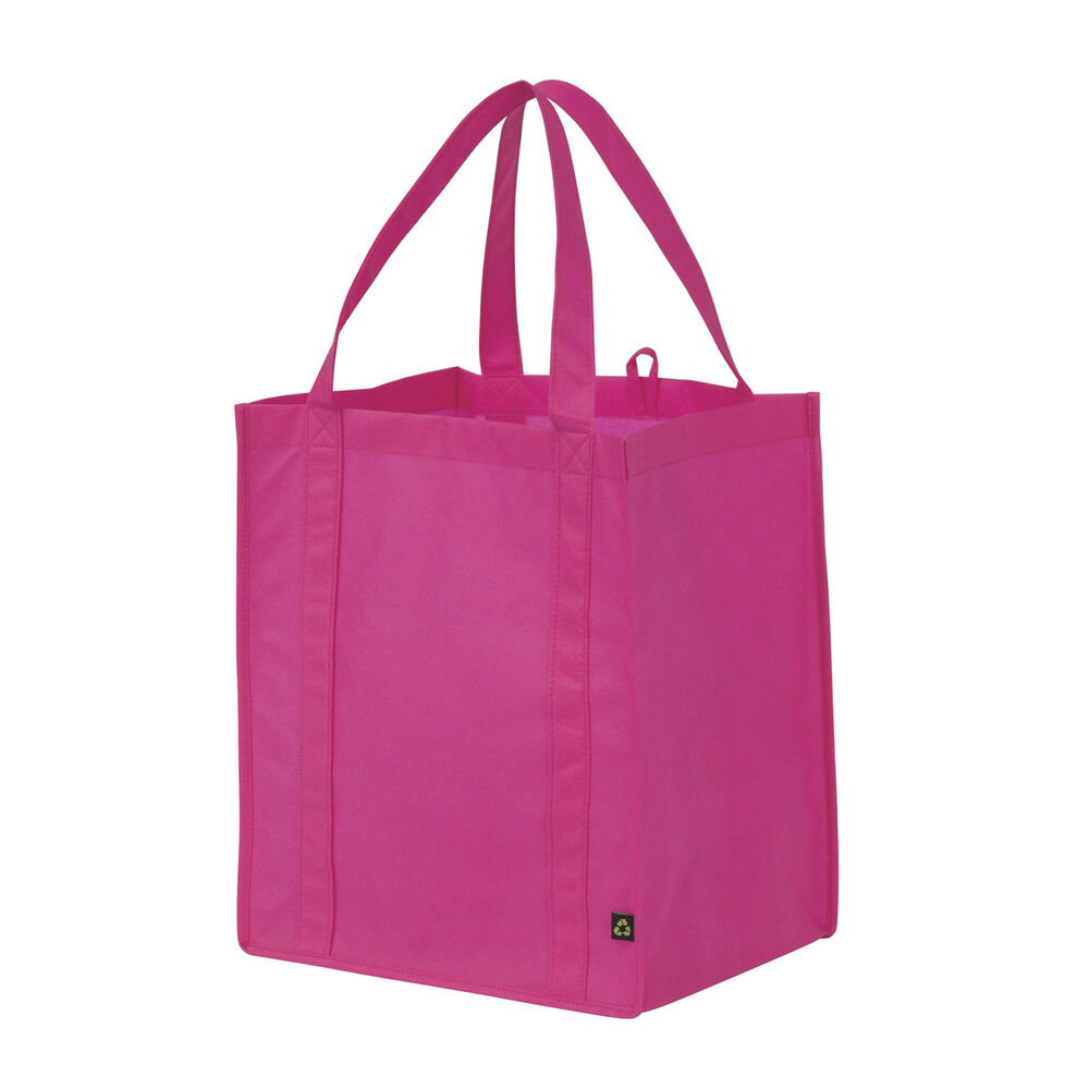 grocery tote fashionable reusable storage shopping bag variety of colours ebay