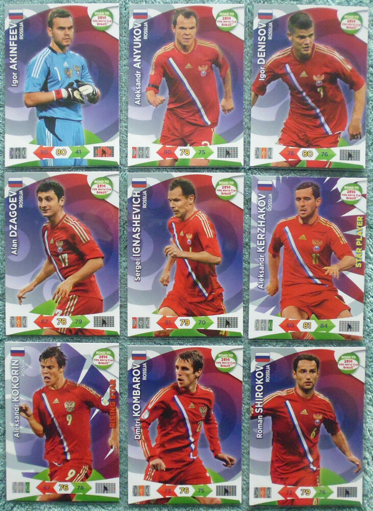 Germany Adrenalyn XL Road to 2014 World Cup Brazil Card Selection