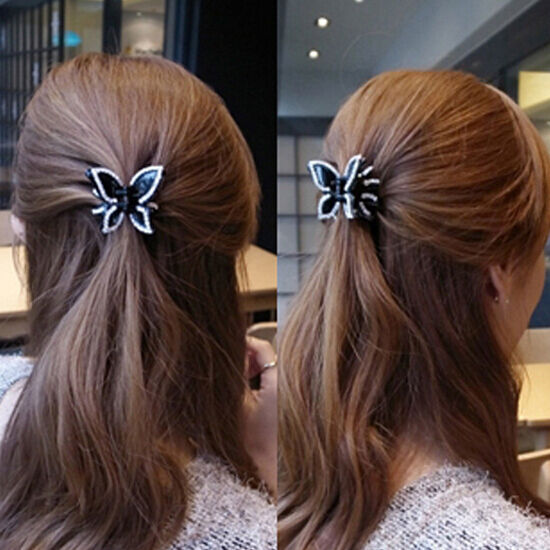 butterfly clips hair styles fashion korean butterfly acrylic hair claw 6221 | s l1000