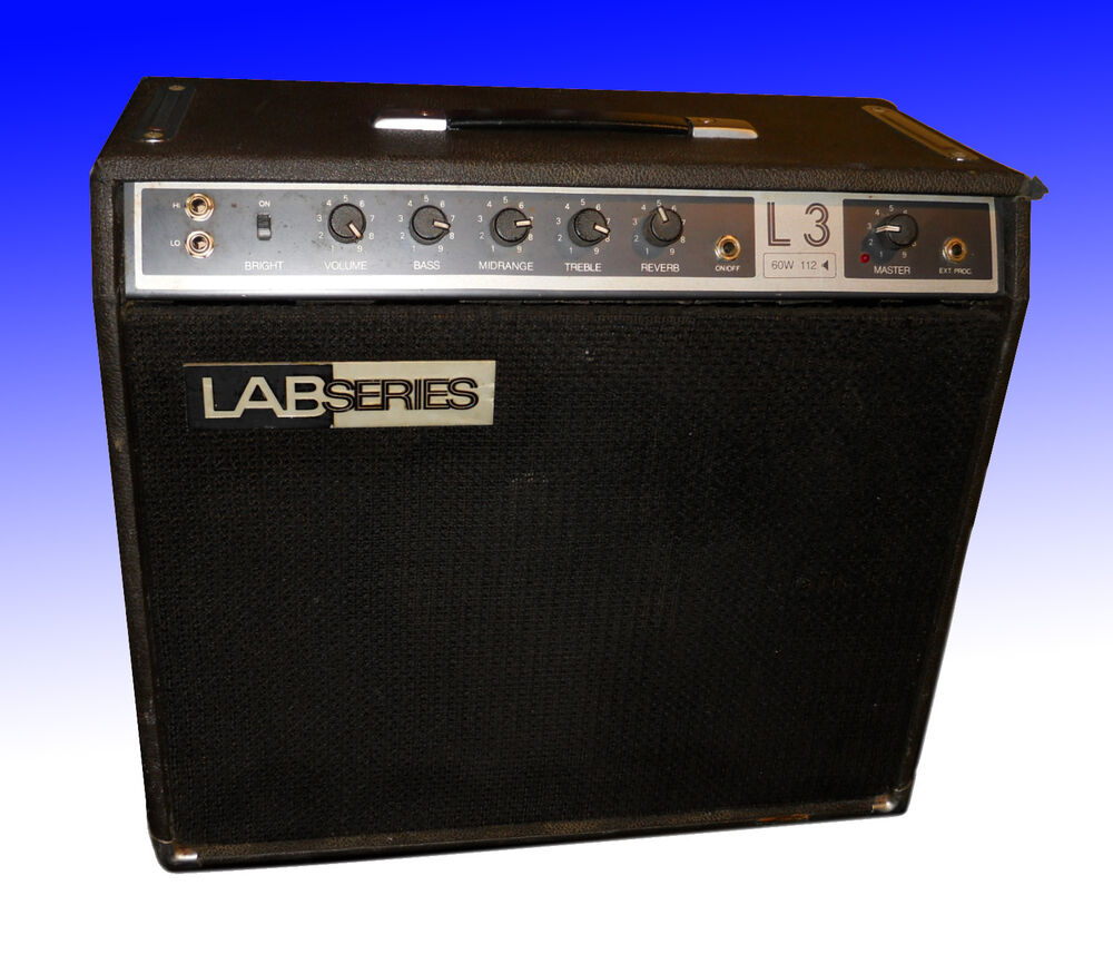 lab series l3 amp with orange label fender jbl d120f speaker gibson moog ebay. Black Bedroom Furniture Sets. Home Design Ideas