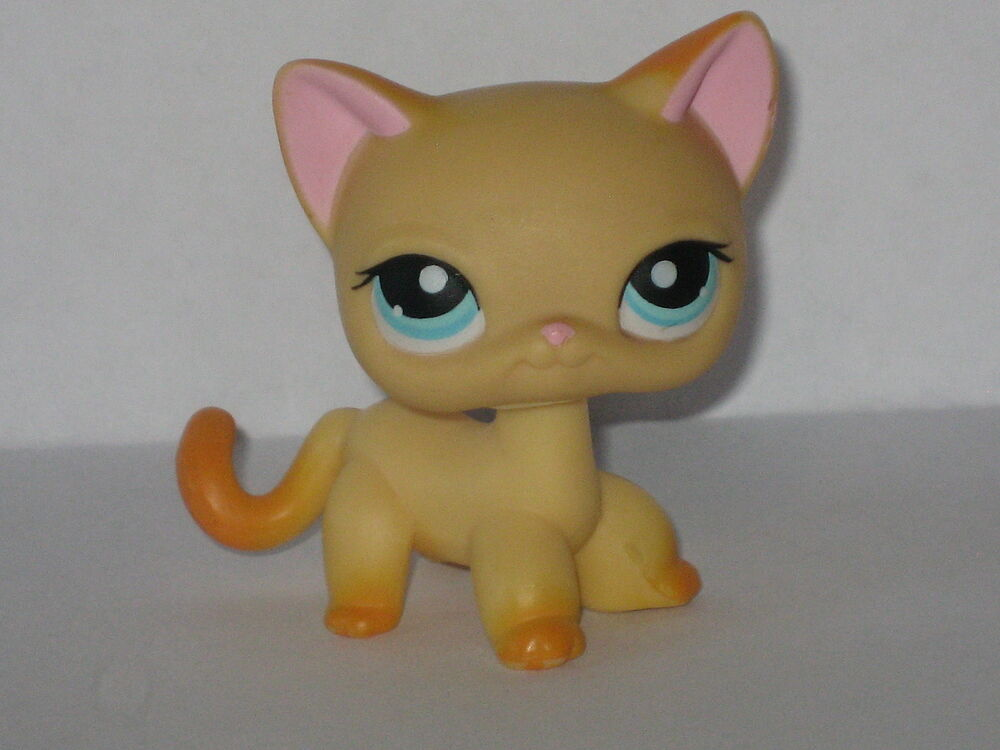 Littlest Pet Shop Yellow Cat
