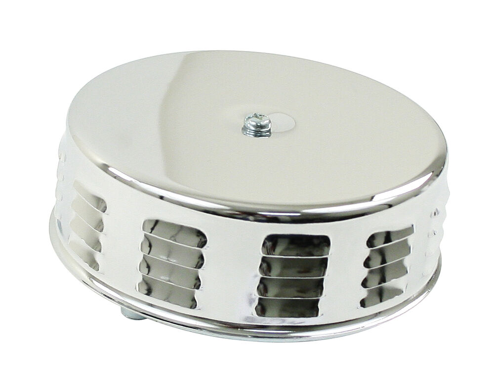 Vw Air Cleaners : Vw bug chrome louvered air cleaner for stock carb quot neck