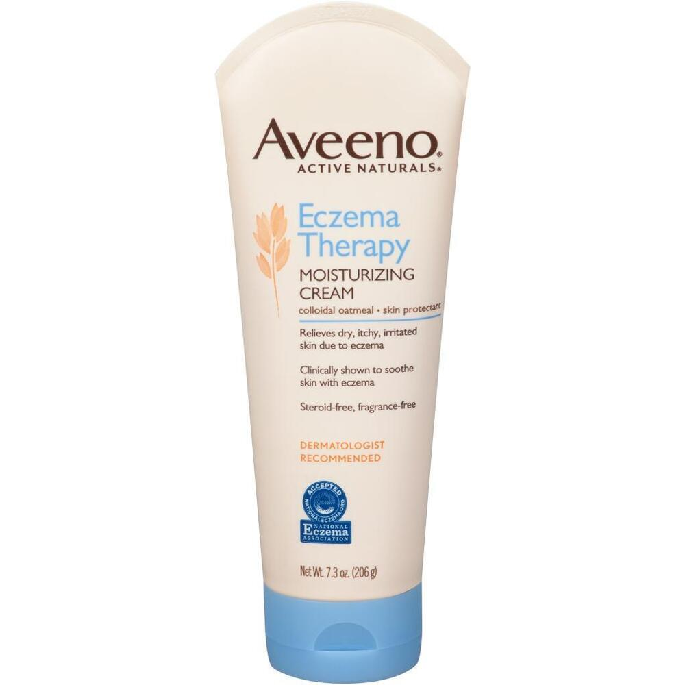 Aveeno Eczema Therapy Moisturizing Cream, Fragrance Free 7.2 oz (206 g)  | eBay