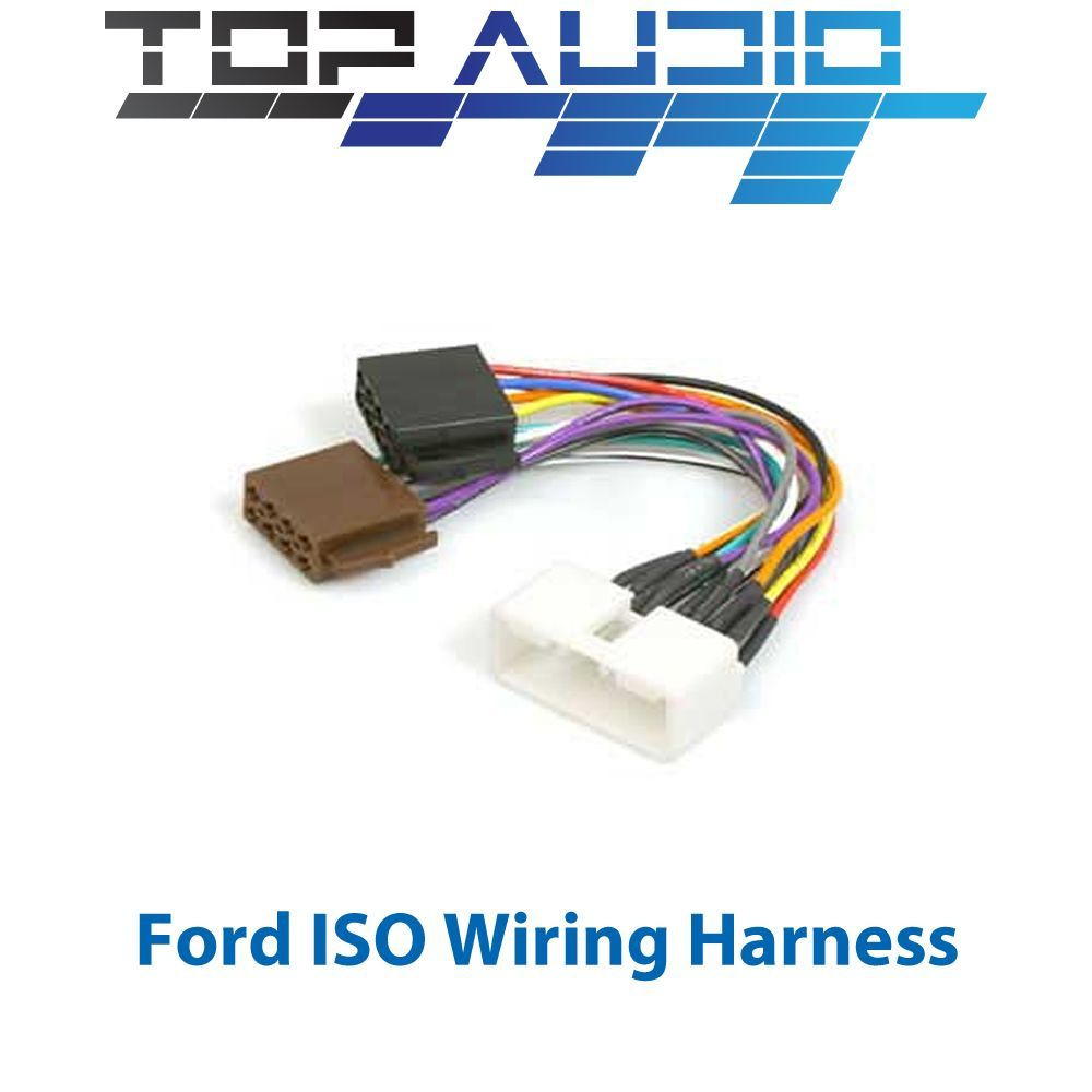 ford falcon au 1998 2002 iso wiring harness stereo radio lead wire adaptor ebay