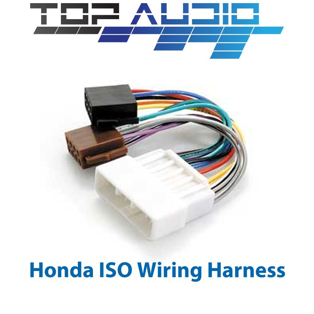 Honda Iso Wiring Harness Stereo Radio Plug Lead Loom Connector B16a2 Adaptor Ebay