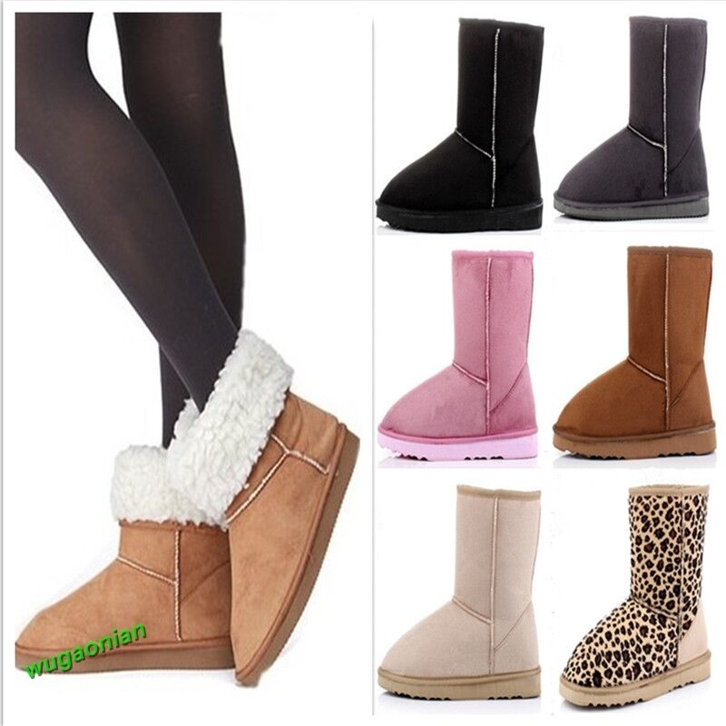 Fashion Women Lady Winter Warm Snow Boots Cute Ankle Shoes ...