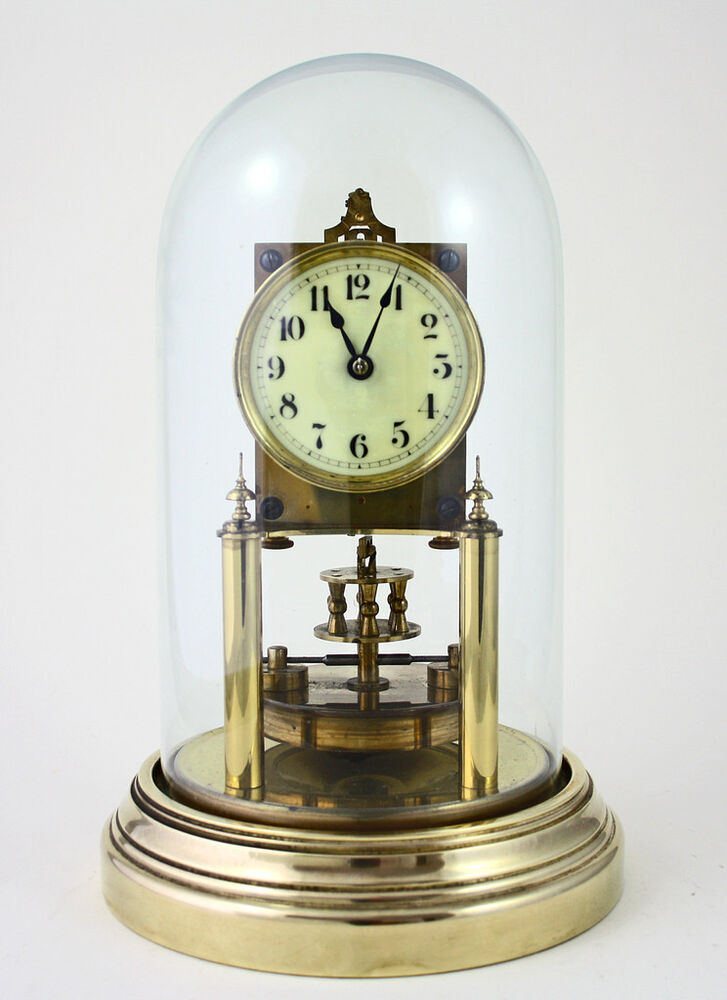 Ebay Glass Dome Clock With Pendulum