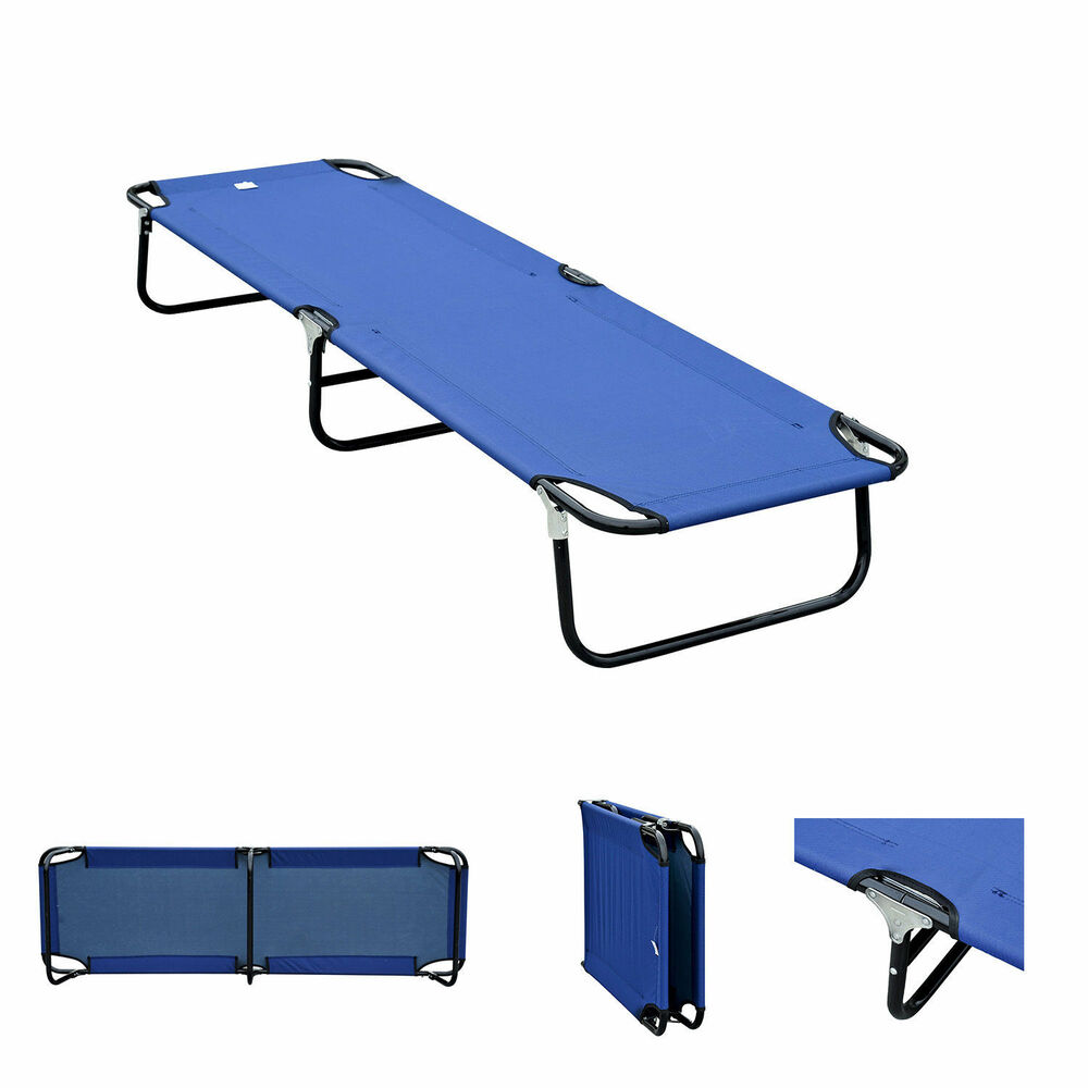 Portable Outdoor Kitchens: Outdoor Portable Army Military Folding Camping Bed Cot