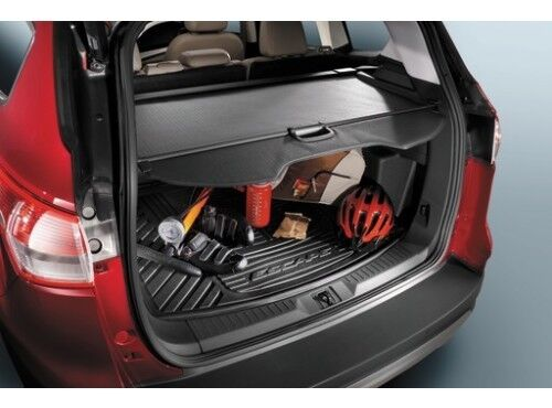 2013 2017 escape oem genuine ford parts rubber cargo area. Black Bedroom Furniture Sets. Home Design Ideas