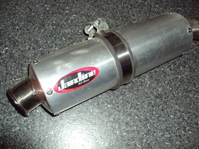 09 10 11 12 honda cbr 600 rr jardine rt one slip on for Jardine exhaust