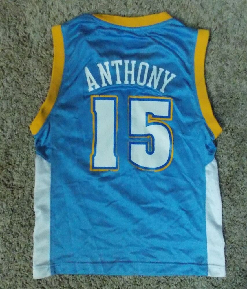 23db1877ab6 Carmelo Anthony #15 Denver Nuggets Basketball Jersey - Youth S (8) | eBay