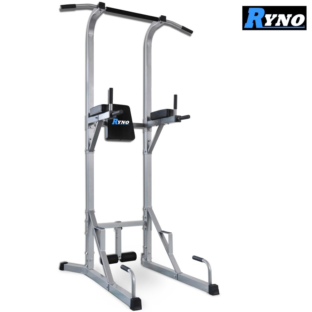 ryno ultimate vkr power tower tricep dip station pull. Black Bedroom Furniture Sets. Home Design Ideas