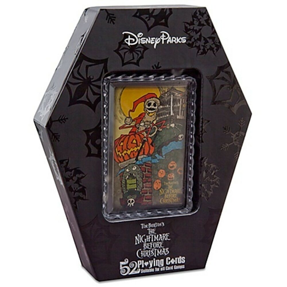 Disney Nightmare Before Christmas Playing Card Set Haunted