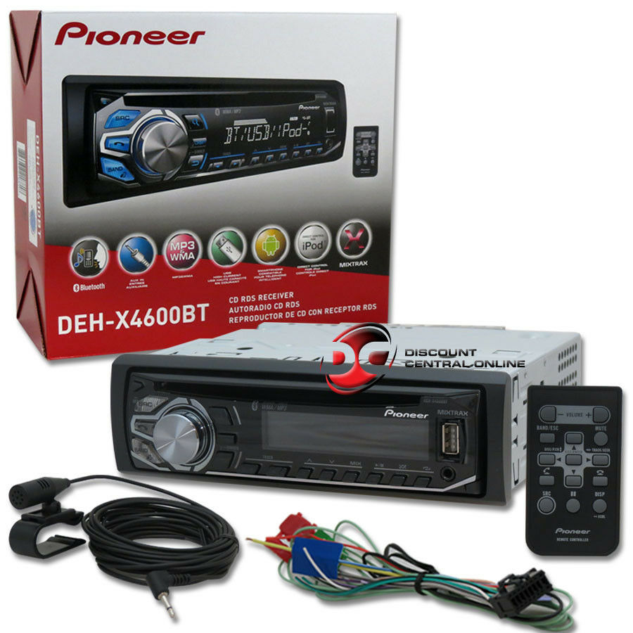2014 pioneer 1din car stereo cd player with bluetooth. Black Bedroom Furniture Sets. Home Design Ideas