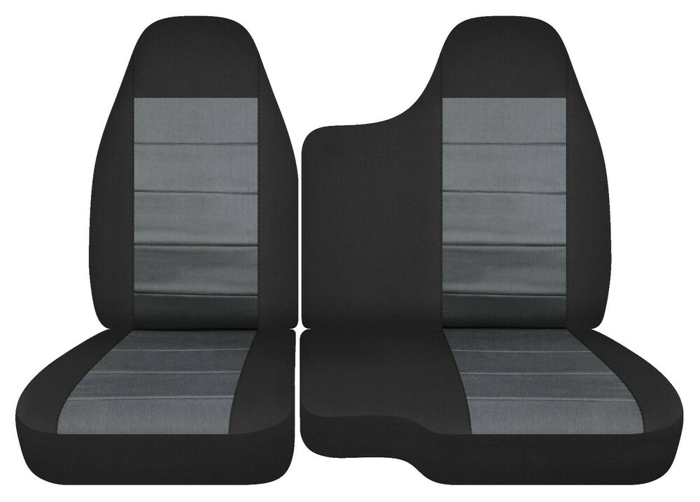 98 03 FORD RANGER 60 40 Bench Seat Black Charcoal Car Seat