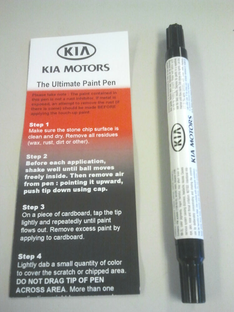 Kia Snow White Pearl Touch Up Paint