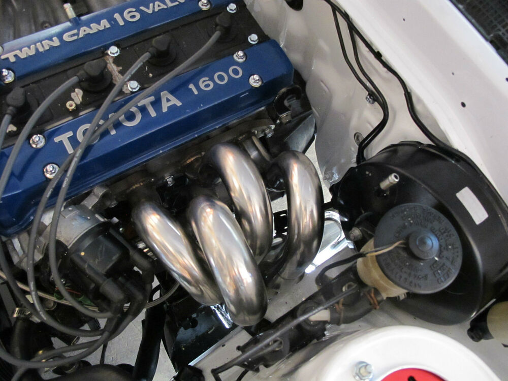 Cxracing racing performance header for 85 87 corolla ae86 for 2 4 motor for sale