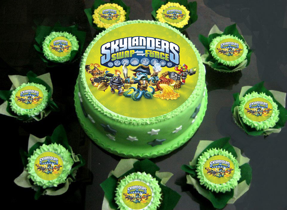 Skylander Supercharger Cake Ideas