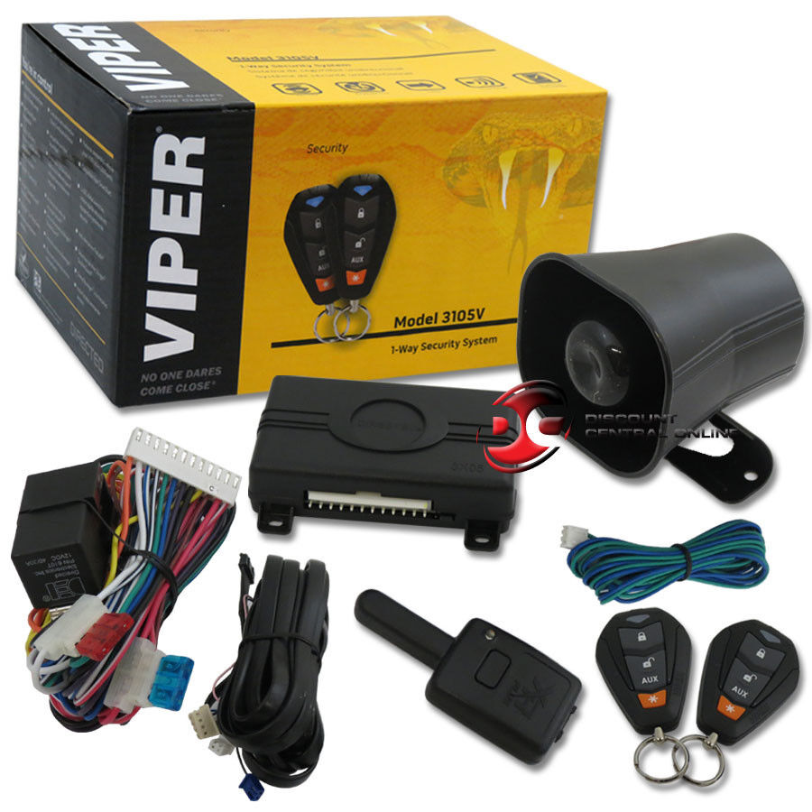 2015 viper 350 plus 1 way car alarm security system with. Black Bedroom Furniture Sets. Home Design Ideas