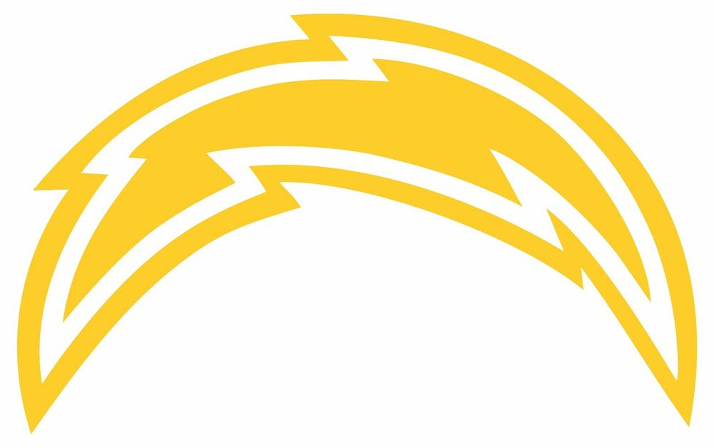 Chargers Window Sticker Decal Reflective At Night Go San