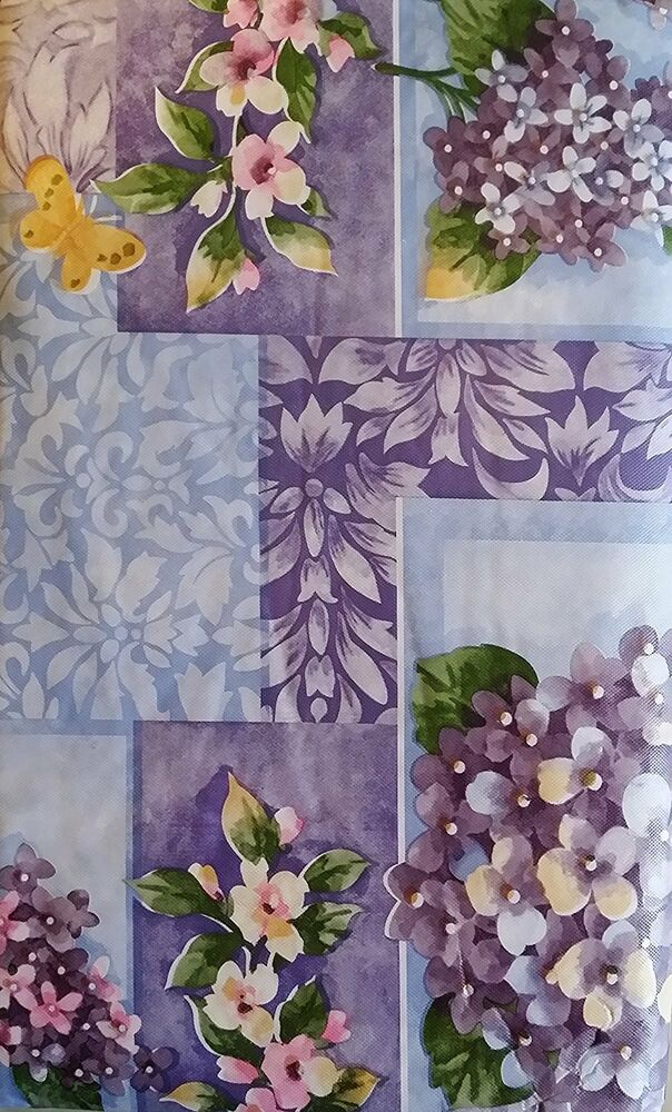 flannel backed vinyl tablecloth flannel back vinyl floral tablecloths by elrene assorted 7226