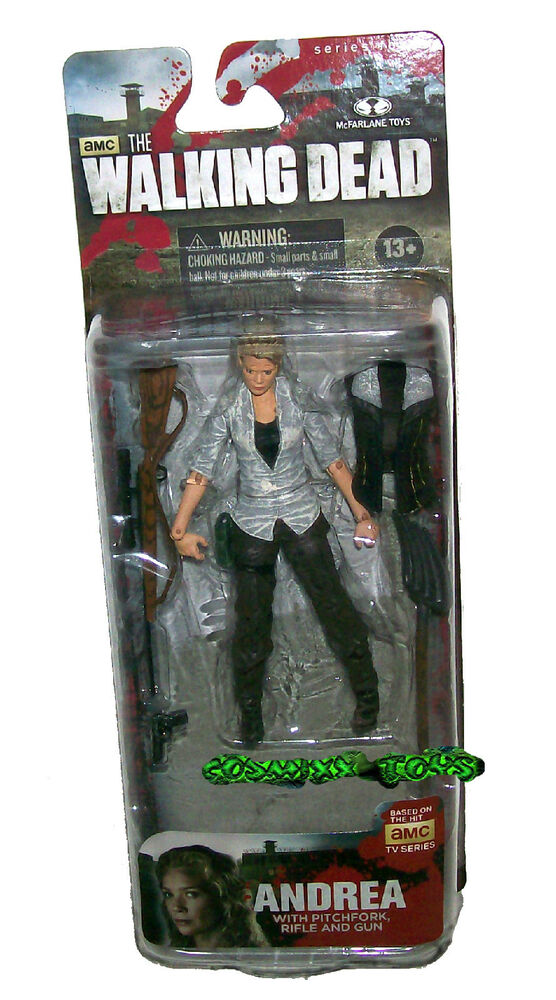 Amc The Walking Dead Series 4 Andrea With Pickfork Rifle
