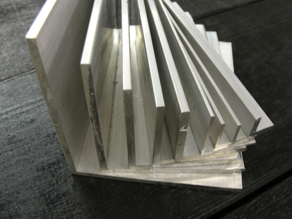 Aluminium Angle X 500mm Lengths All Sizes Fron 1 2 Quot To 4