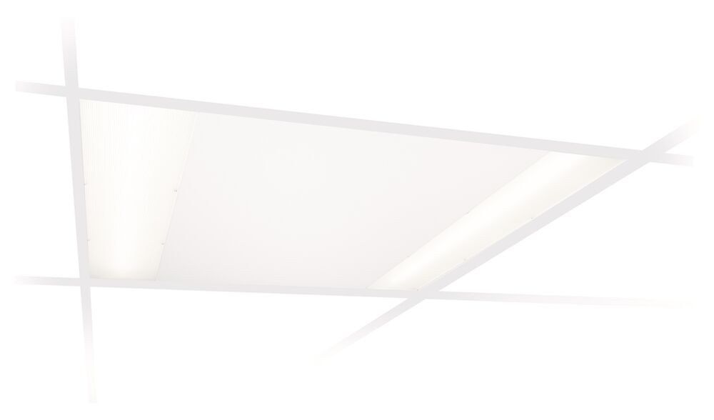 600 X 600 Suspended Ceiling Modular Recessed LED Lights Shop Office Commercia