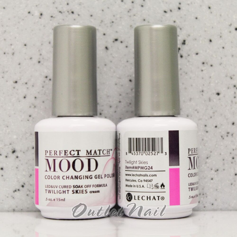 LECHAT Perfect Match MOOD Color Changing Gel Polish 2013