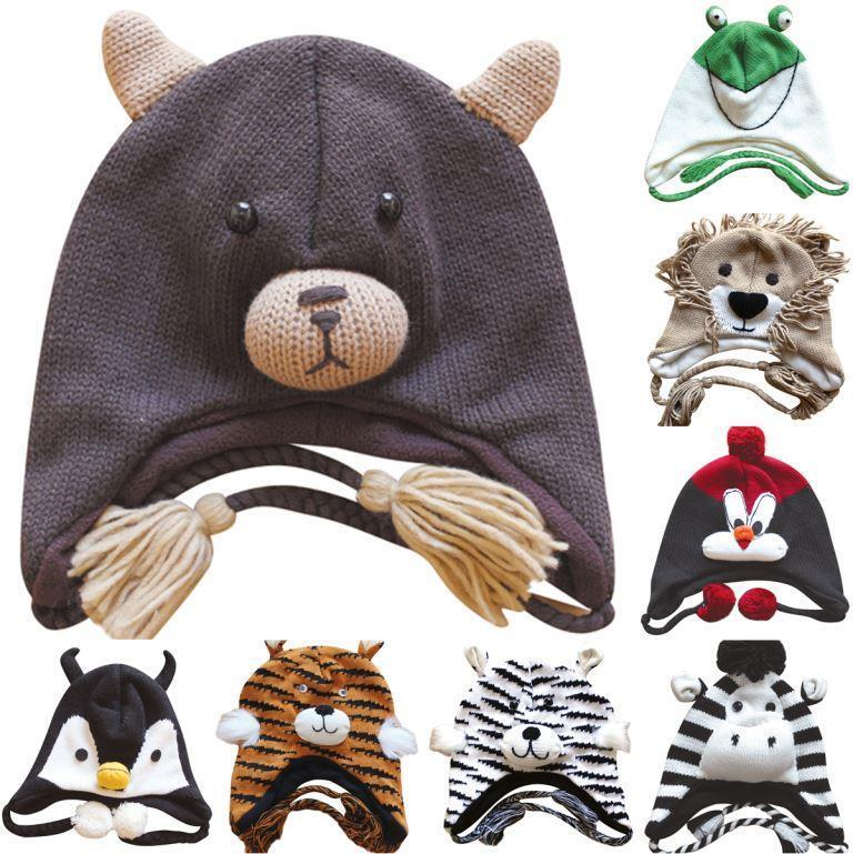 Was Adult animal plush hat pattern how